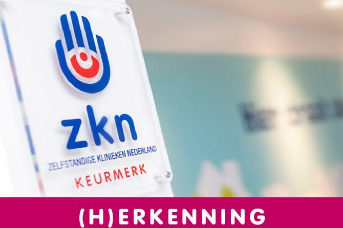Kroon Kliniek behaalt ZKN-keurmerk
